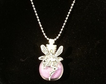 Fairy Glitter Necklace Pixie Dust Bling Tinkerbell
