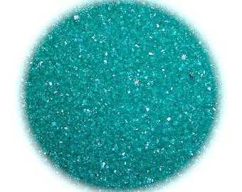 Teal Sanding Sugar - 1 LB