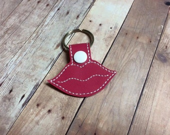 Lips Key Chain