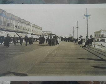 RPPC Postcard Atlantic City Boardwalk
