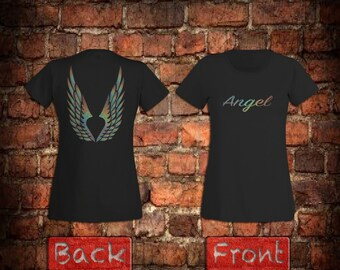 Womans winged Angel T-Shirt
