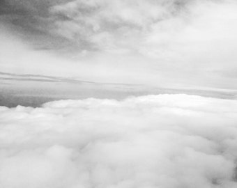 Fine Black and White Photograph- Clouds