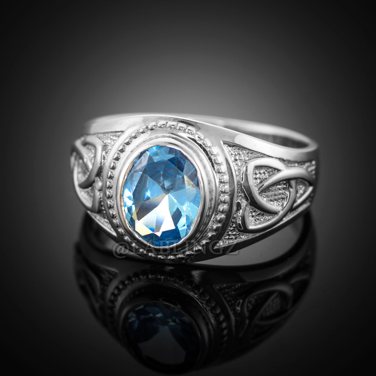 sterling silver s celtic cz ring celtic color