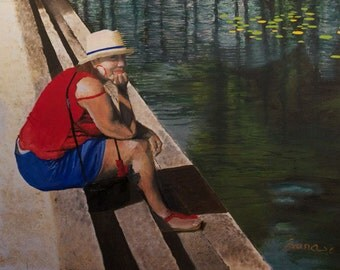 Reflejos - Puerto Rican Art Limited Edition Giclee Print