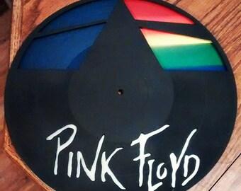 Pink Floyd Record Clock