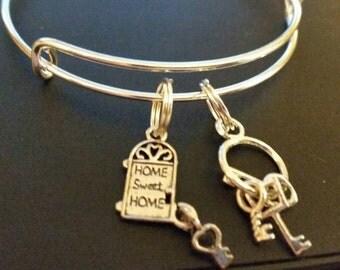 New Home Bangle Bracelet