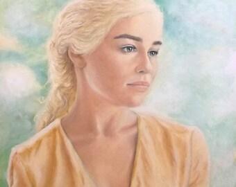 Daenerys Targaryen : Original Painting