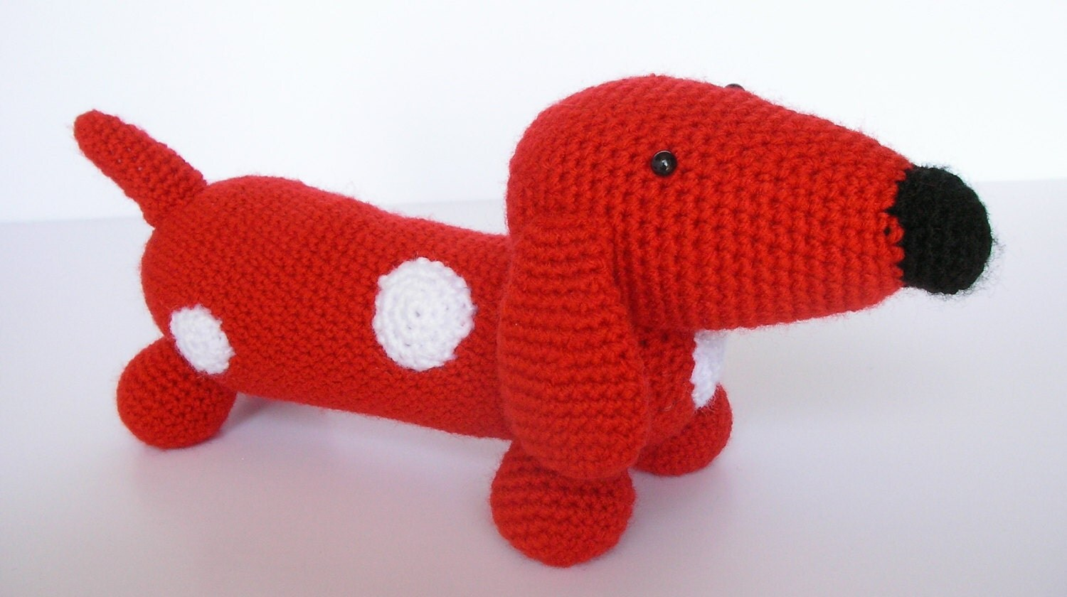 Amigurumi Wiener Dog Pattern : Amigurumi wiener dog pattern kalulu for