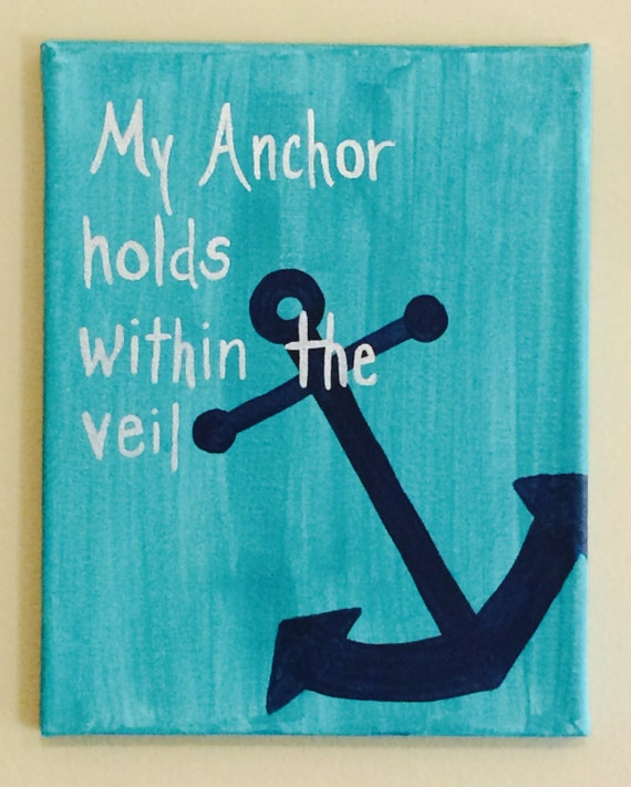 my anchor holds within the veil meaning