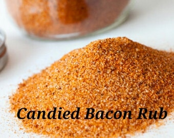 Candied Bacon Rub