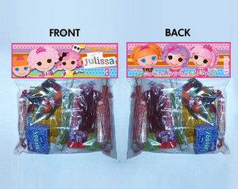 PRINTABLE - lala loopsy lalaloopsy Treat Toppers for Your Bags