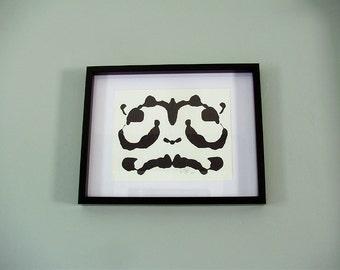 Rorschach Original Framed Art