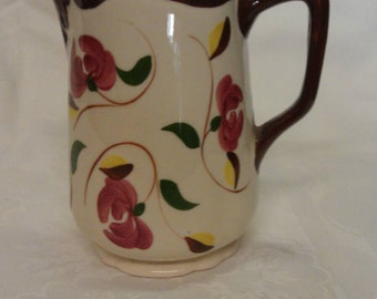 Clouse Hand Painted Pitcher