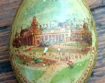 1904 World's Fair St. Louis Souvenir Egg