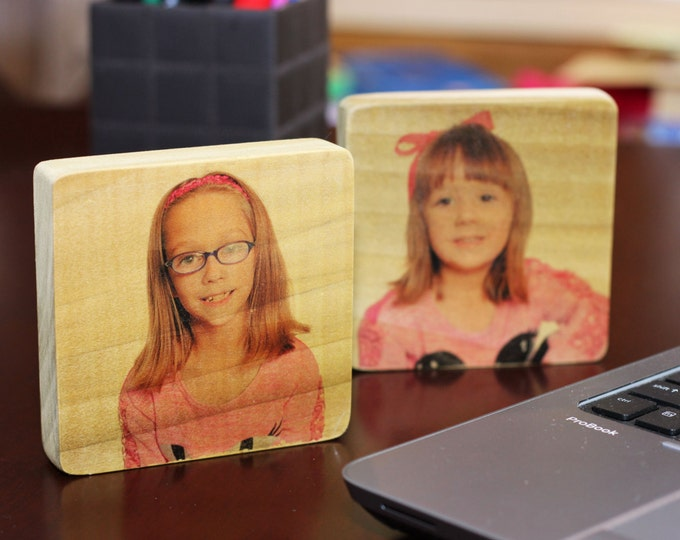 Table top photo panel