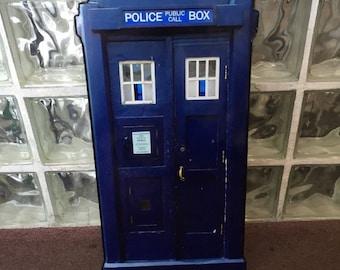 Doctor Who Tardis Wall Sign