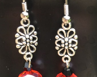 Red and black dangles
