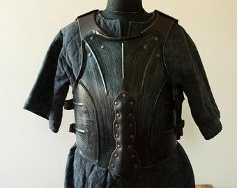 Breastplate of steel / Steel flat breast