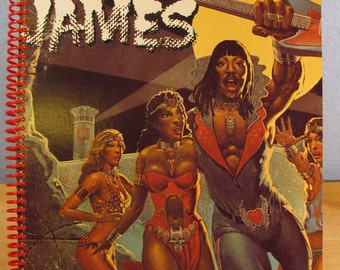 Rick James Bustin Out Of L Seven Album Cover Sketchbook