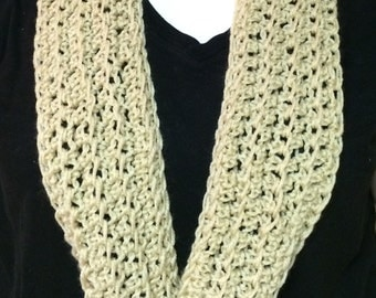 Crocheted Infinity Scarf