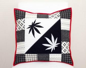 Yin & Yang Cannabis Pillow