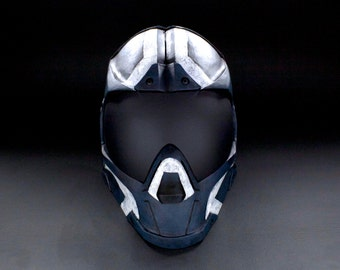 ColdBloodArt #Infinity Airsoft Paintball Mask - Charlie Two