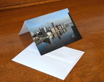 New York City Skyline, Blank Notecards, Notecard Set, Photo Notecards, New York Souvenir
