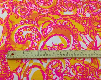 Lilly Pulitzer Fabric Sea and Be Seen Cotton Dobby