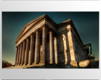 "A3 Mounted Photographic Print: ""St. George's Hall"""