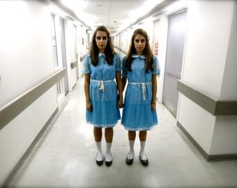 Custom Made The Shining Grady Twins Halloween Costume Set Dress