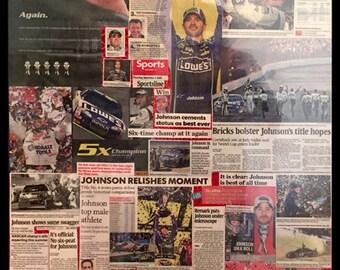 Jimmy Johnson Collage