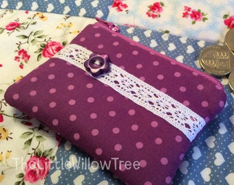 Mini Handmade Coin Purse