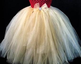 Handmade tulle tutu dress