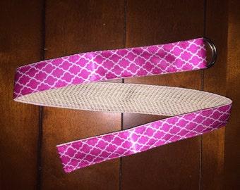 Women's Hot Pink Belt