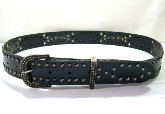 black leather beltmotorcycle leather beltmens leather belt