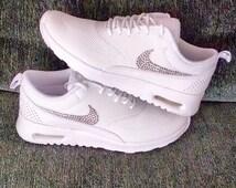 Nike Air Max Weiß Glitzer