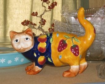 Folk Art Cat