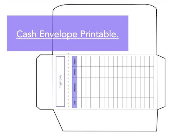Irresistible image regarding cash envelope printable