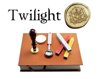 Twilight Saga Cullen Family Crest - Wax Stamp Gift Set / Kit