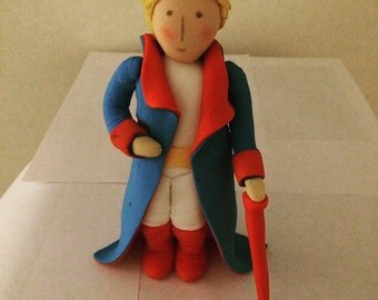 little prince fondant cake topper