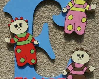 Handmade Personalised Door Sign Plaque In The Night Garden Upsy Daisy Igglepiggle Tombilboos