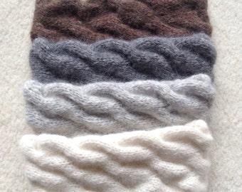 Alpaca luxury headband / ear warmer by Willow Luxury