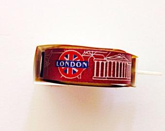 Little B Paper Tape: London Theme,washi , washi tape, masking tape, craft tape, stationery, planner, hobinichi traveler,planner supply