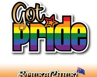 Rainbow - 6 Stripe - Got Pride - Gay Pride