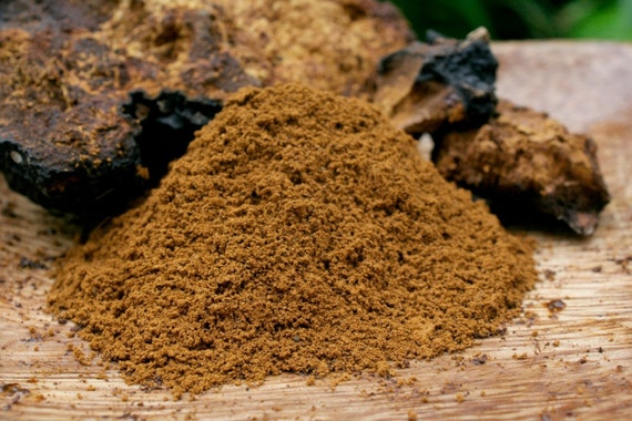1 LB Ground Chaga Tea Pure Superfood Dried Loose Tea - Wild Harvested Chaga - Organic - Caffeine Free