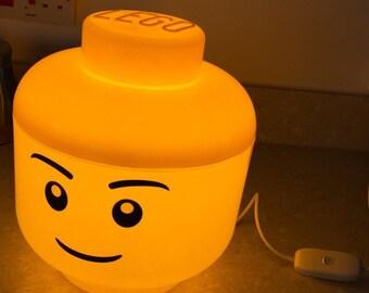 LED Lego Lamp - Boy (L)