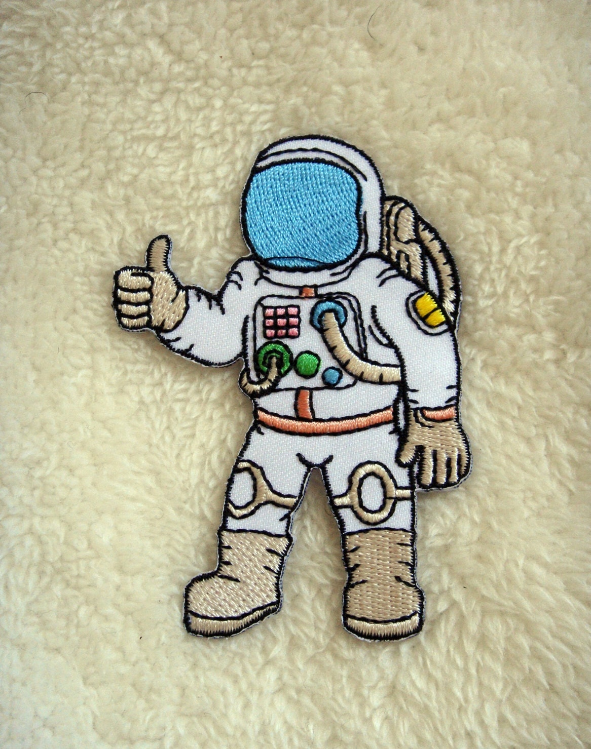 Astronaut Applique Iron On Patch - Astronaut decorations