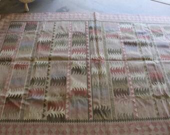 Vintage Wool Kilim Rug