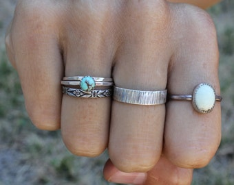 Turquoise Stack! Set of three