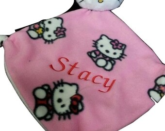 Doudou girl embroidered with name